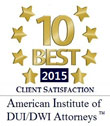 Colorado Springs DUI Lawyer Top 10 Client Satisfaction