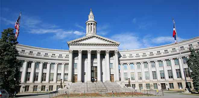 downtown-denver-colorado-city-and-county-hall-lawyer-litigates