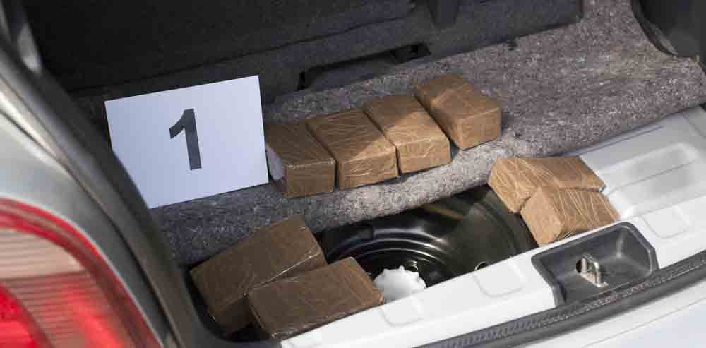 drug-seized-from-car-trunk-Colorado Springs