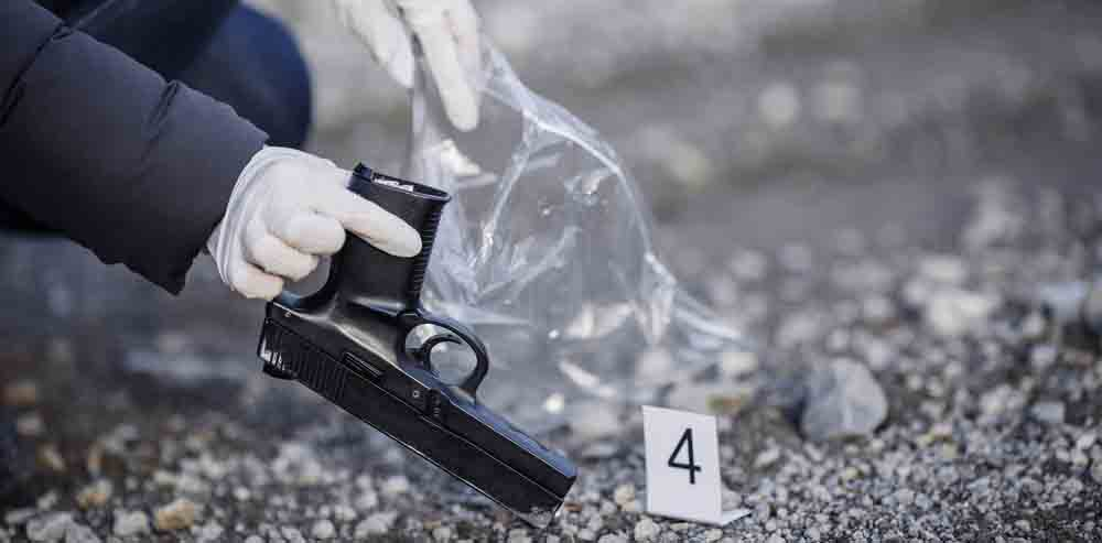 police-collecting-gun-evidence-colorado-springs-violent-crimes